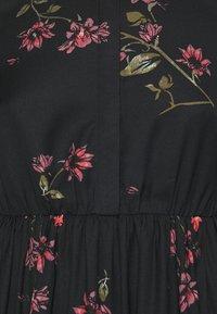 Vero Moda Petite - VMGALLIE DRESS - Shirt dress - black - 2