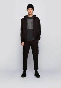 BOSS - TSHINE - T-shirt imprimé - black - 1