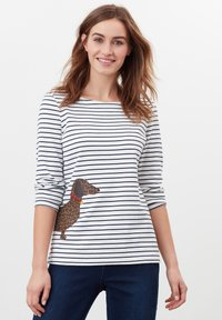 Tom Joule - HARBOUR  - Long sleeved top - cremefarben hund leopard streifen - 0