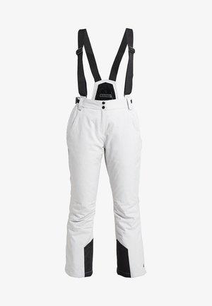 ERIELLE - Pantaloni da neve - hellgraumelange