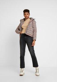 ONLY - ONLSTINA CHECK SHORT JACKET - Winter jacket - moonbeam/ketchup - 1