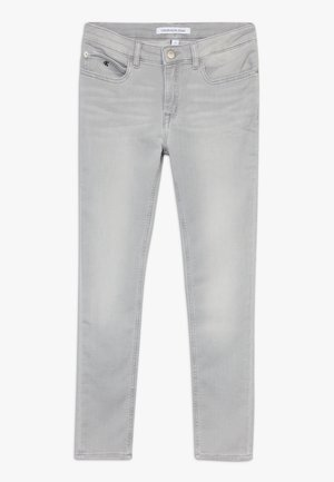 SKINNY ANKLE - Vaqueros pitillo - grey denim