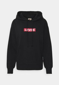 Levi's® - GRAPHIC STANDARD HOODIE - Mikina skapucí - boxtab red/mineral black - 4