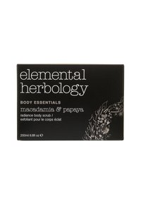 Elemental Herbology - MACADAMIA & PAPAYA BODY SCRUB 200ML - Body scrub - neutral - 1