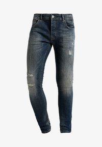 CHASIN' - EGO BLAIDD - Slim fit jeans - blue denim - 4