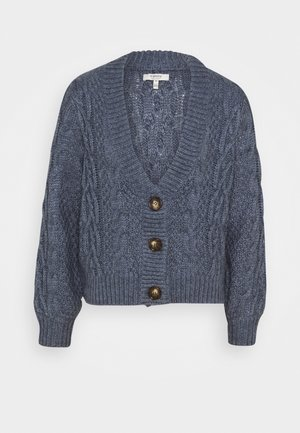 NATASHA  - Cardigan - country blue melange