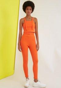 Trendyol - Trousers - orange - 3