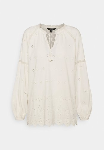 UPTOWN - Long sleeved top - mascarpone cream
