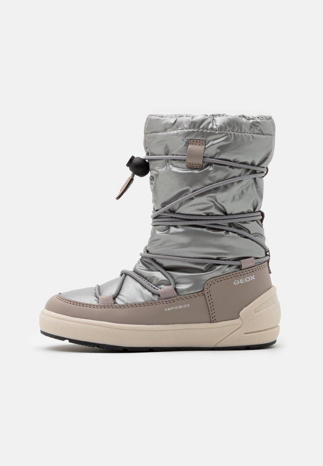 SLEIGH GIRL ABX - Winter boots - silver/beige