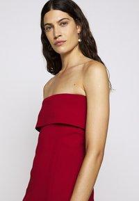 Proenza Schouler White Label - COMPACT TANK DRESS - Pouzdrové šaty - scarlet - 4