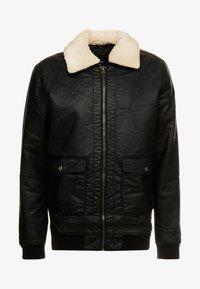 Tiffosi - FLYER - Faux leather jacket - black - 6