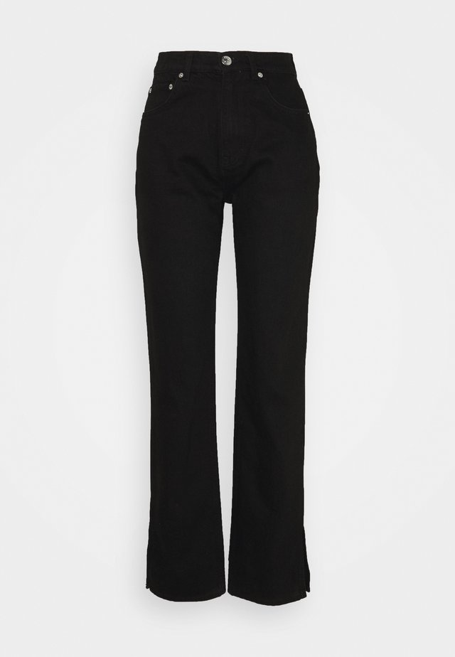 SLIT - Relaxed fit jeans - black