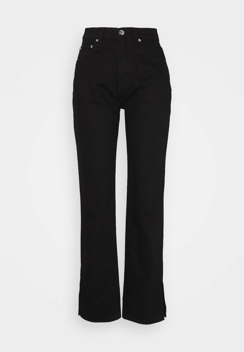 Gina Tricot Tall - SLIT - Jeans relaxed fit - black