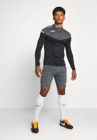 JAKO - TRAININGSSHORT PREMIUM - Sports shorts - anthra light - 1