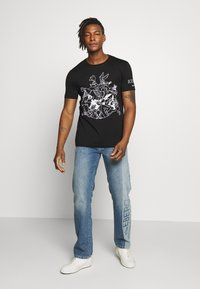 Iceberg - T-shirt imprimé - black - 1