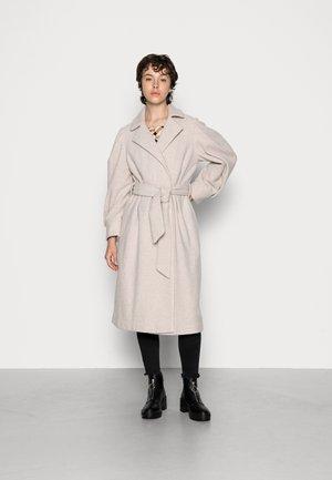 YASZOGA COAT - Classic coat - silver cloud melange