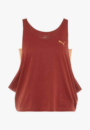 LAYERED VEST - Sports shirt - bossa nova