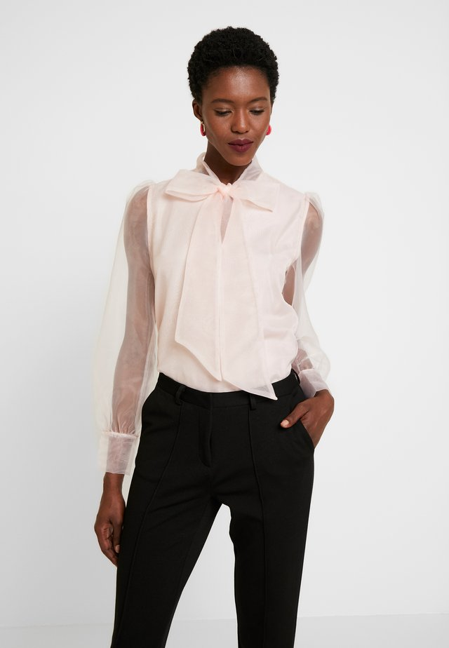 ORGANZA BLOUSE - Blouse - veiled rose