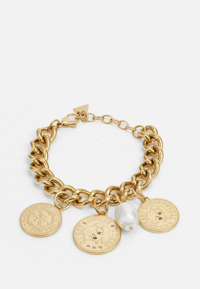 THREE COINS BIG - Armband - gold-coloured