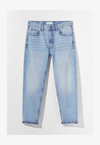 MIT VINTAGE WASCHUNG  - Jeans straight leg - light blue