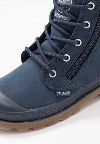 Palladium - HI CUFF WP - Šněrovací kotníkové boty - mood indigo - 2