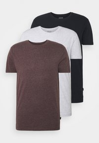 Burton Menswear London - TEE 3 PACK - Camiseta básica - navy - 5