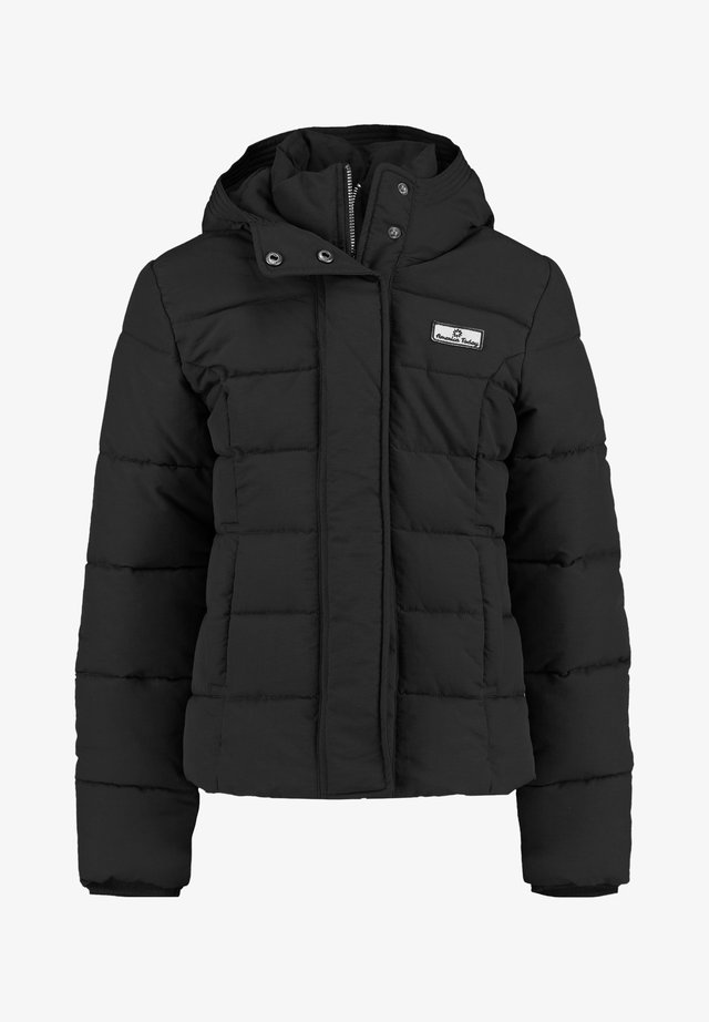 Winter jacket - washed black