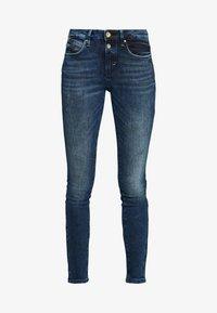 ALEXA - Jeans Skinny Fit - random bleached  blue denim