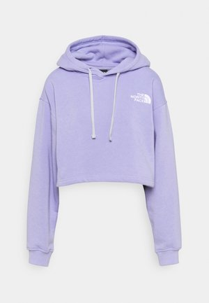 TREND CROP DROP HOODIE - Sweatshirt - sweet lavender