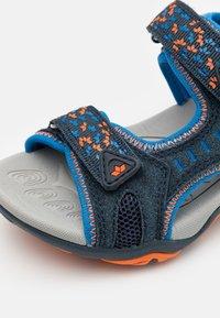 LICO - GOMERA  - Walking sandals - marine/blau/orange - 5