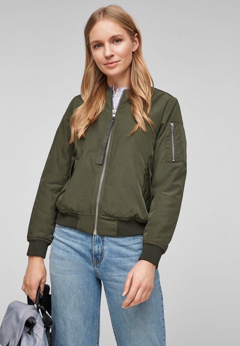 s.Oliver - Light jacket - khaki
