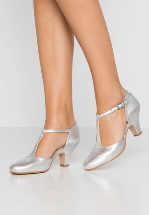 Classic heels - galaxy silver