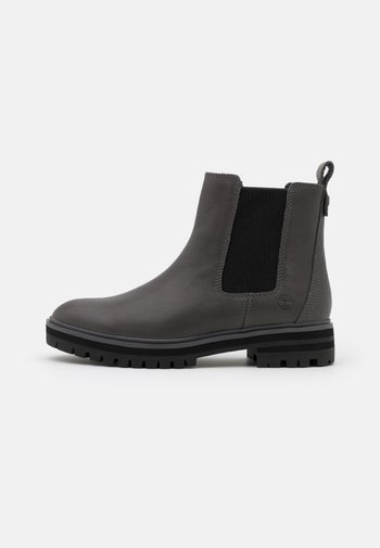 LONDON SQUARE CHELSEA - Platform ankle boots - mid grey