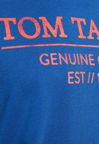 TOM TAILOR - Triko spotiskem - clearly blue - 7
