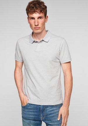 Polo shirt - grey melange