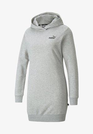 ESSENTIALS HOODED KVINDE - Day dress - light gray heather