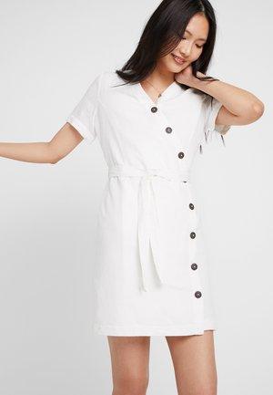 Shirt dress - off white