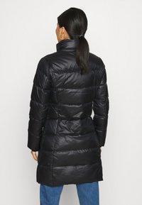 Calvin Klein - ESSENTIAL REAL COAT - Donsjas - black - 4