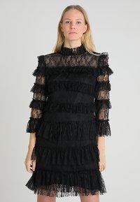 By Malina - CARMINE DRESS - Cocktail dress / Party dress - black - 0