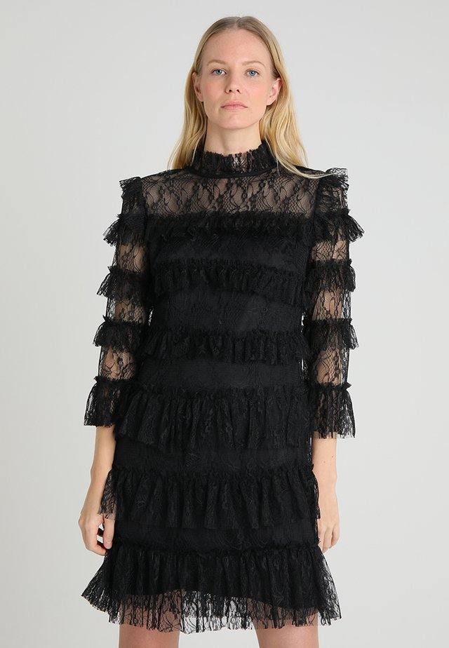 CARMINE DRESS - Cocktailjurk - black