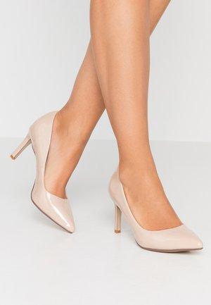 ALIVIA - Classic heels - nude