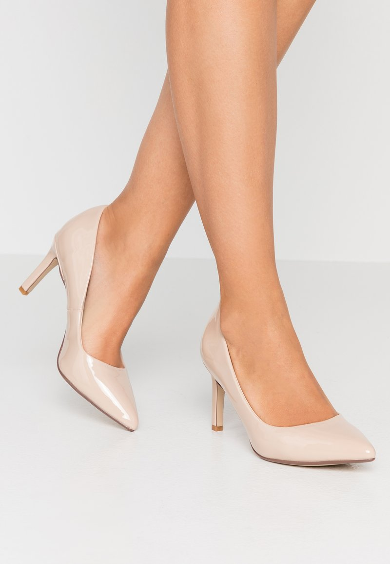 Buffalo - ALIVIA - Classic heels - nude