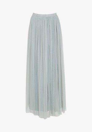Pleated skirt - sage green