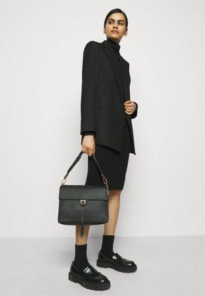 LOUISE - Handbag - noir/ash grey