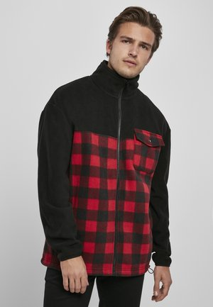 Light jacket - black/redcheck