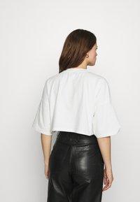 ALIGNE - CROSBY - Basic T-shirt - ecru - 2