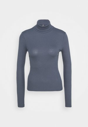 PCBIRDIE HIGH NECK - Long sleeved top - ombre blue