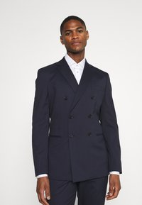 Selected Homme - SLHSLIM MAZELOGAN SUIT - Traje - navy - 2