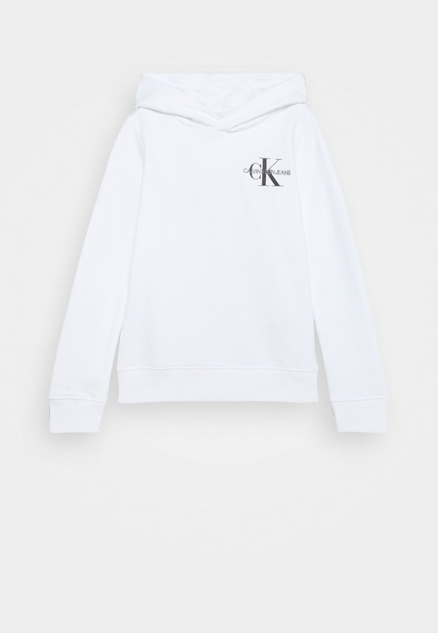 SMALL MONOGRAM HOODIE UNISEX - Sweat à capuche - white