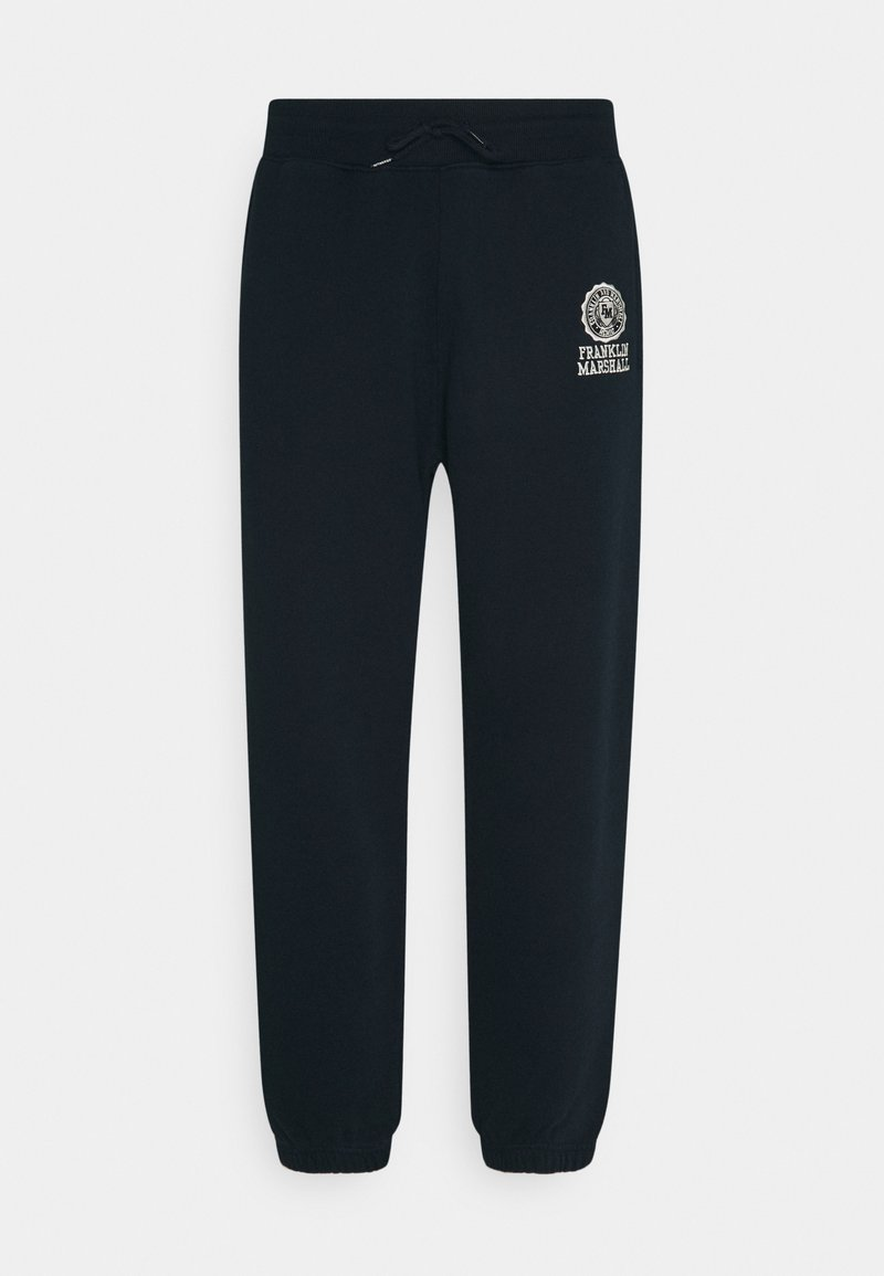 Franklin & Marshall - PANTS - Tracksuit bottoms - navy